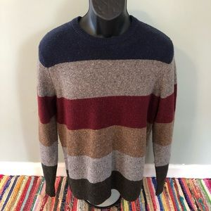NWT Tommy Hilfiger Stripe Sweater 70s Style Medium